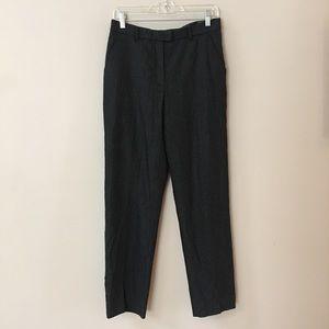 Armani collezioni cashmere blend grey pants